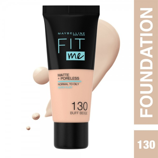 Maybelline Fit Me Fdt 130 Buff Beige - 1Pc 437257-V001 by Maybelline