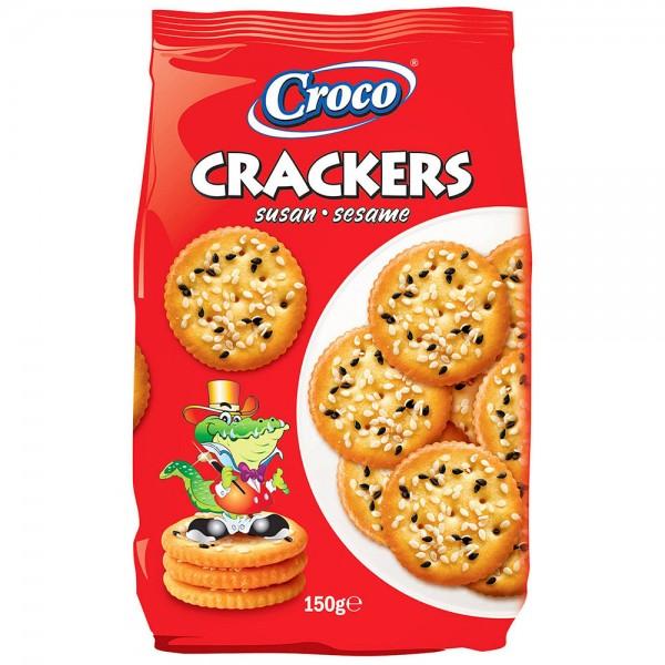 Croco Sesame Crackers 437373-V001 by Croco