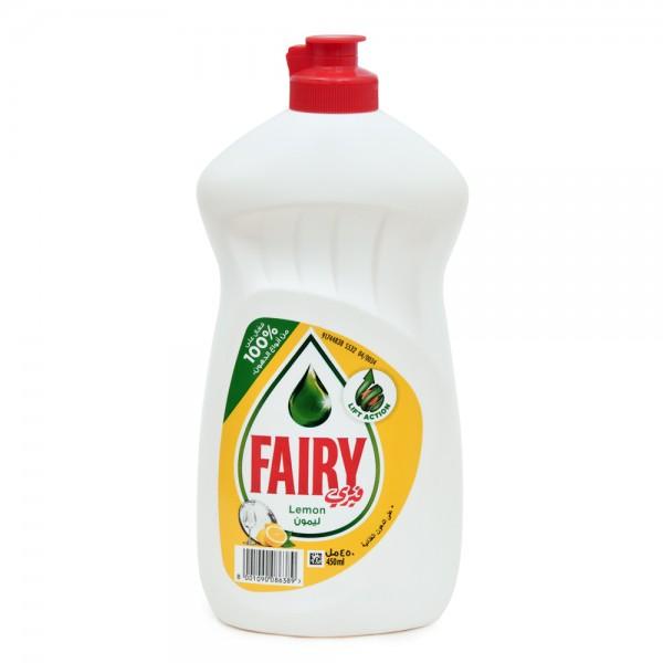 Fairy Dishwashing Lemon 450ml 437531-V001 by Fairy