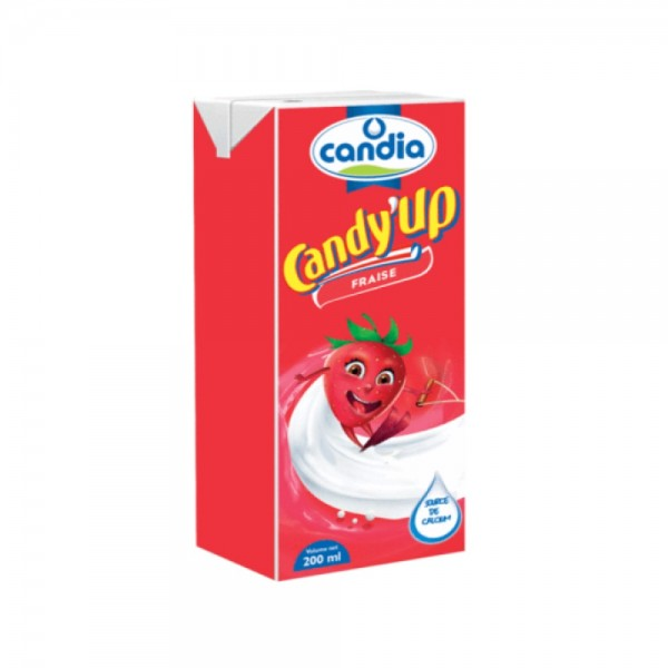 Candia Candy Up Strawberry 200ml 437721-V001 by Candia