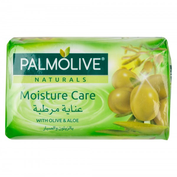 Palmolive Naturals Bar Soap Smooth and Moisture with Aloe and Olive 120gm 437811-V001 by Palmolive