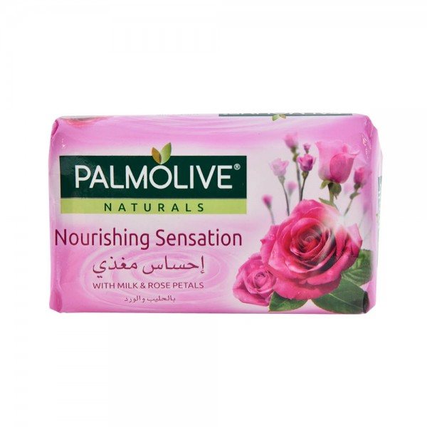 Palmolive Naturals Bar Soap Soft and Moisture with Milk and Rose 120gm 437812-V001 by Palmolive