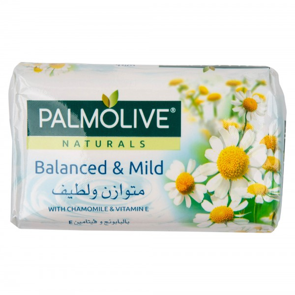 Palmolive Naturals Bar Soap Balanced and Mild with Chamomile and Vitamin E 120gm 437813-V001 by Palmolive