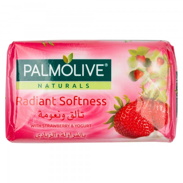 Palmolive Naturals Bar Soap with Strawberry and Yoghurt 120gm 437817-V001 by Palmolive