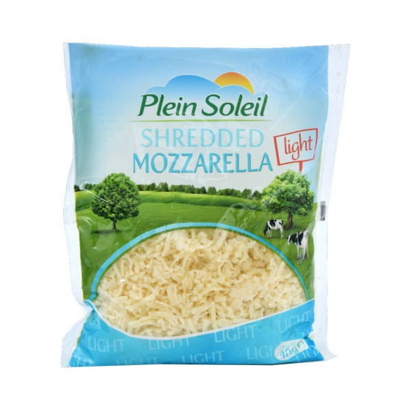 Plein Soleil Shredded Mozzarella Light 400G 438687-V001 by Plein Soleil