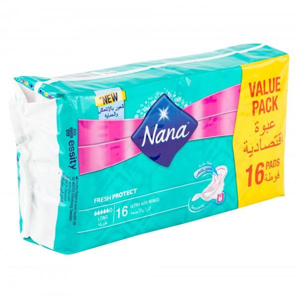 Nana Daily Fresh Pantyliners Long 52's 439276-V001 by Nana