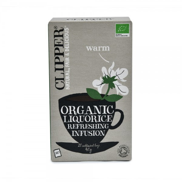 CLIPPER Herbal Infusions Organic Liquorice 20 Bags 439585-V001 by Clipper