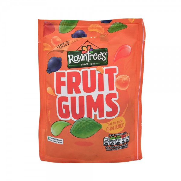 Rowntrees Fruit Gums Pouch - 150G 439651-V001 by Nestle