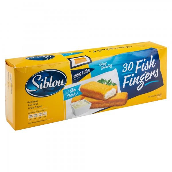 Siblou Fish Fingers Frozen 750G (30 Pieces) 440682-V001 by Siblou