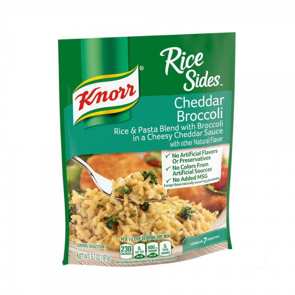 RICE SIDES CHEDDAR BROCCOLI 440832-V001 by Knorr