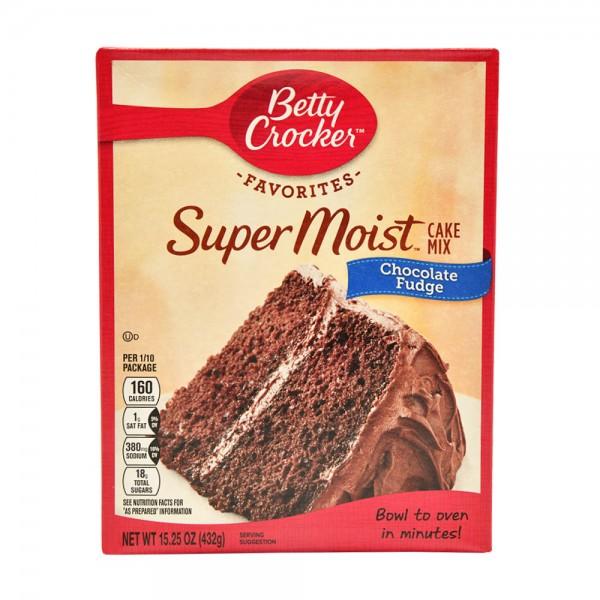 Betty Crocker Super Moist Favorites Chocolate Fudge Cake Mix 15.25oz 441258-V001 by Betty Crocker