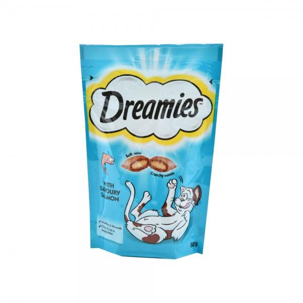 Dreamies Cat Dreamies Salmon - 60G 441770-V001 by Dreamies