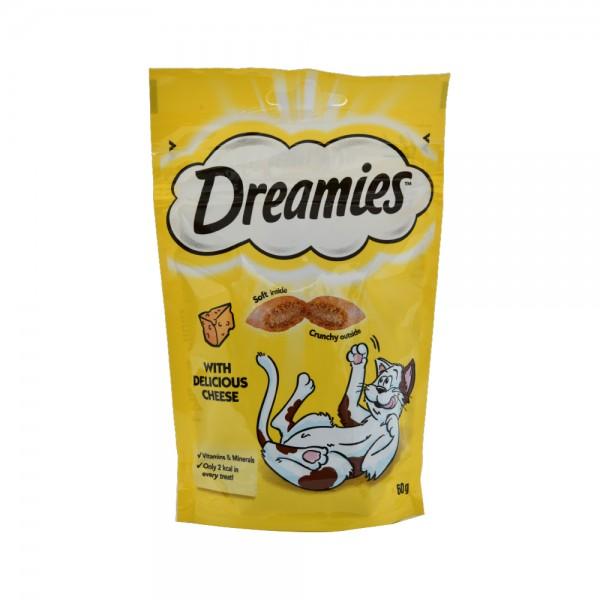 Dreamies Cat Dreamies Cheese - 60G 441771-V001 by Dreamies