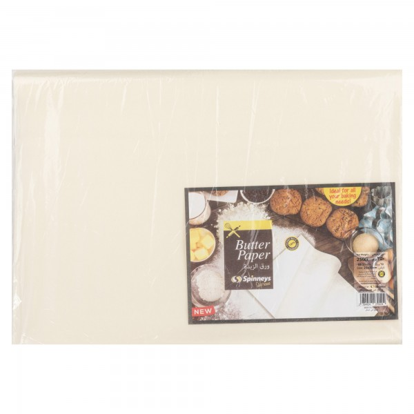 Spinneys Butter Paper 250 Kg 442427-V001 by Spinneys Supreme