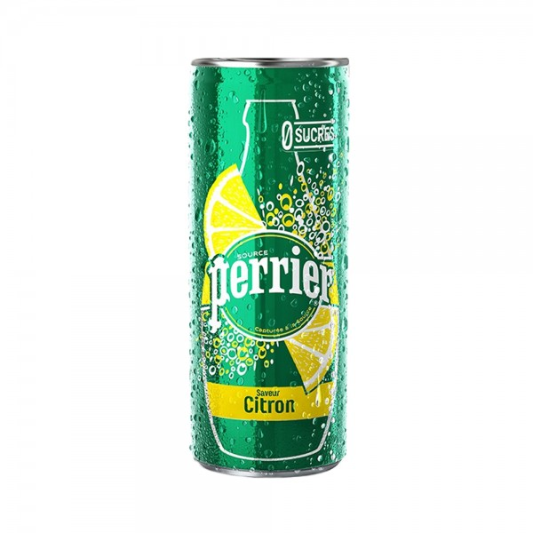 Perrier Citron Slim Can 330ml 442752-V001 by Perrier