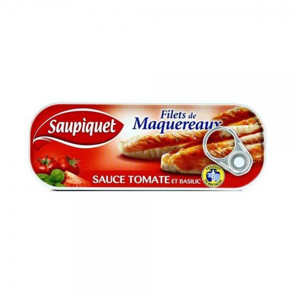 FILET MAQUEREUX SAUCE TOMATE 443012-V001 by SAUPIQUET