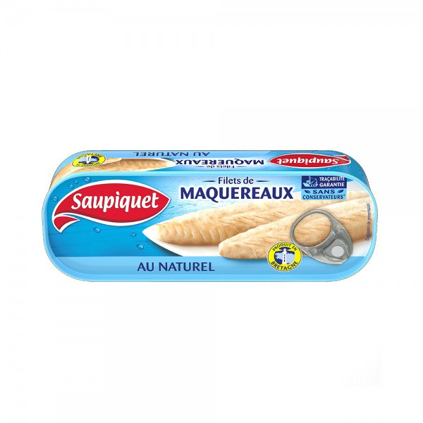 FILET MAQUEREAUX NATURE 443094-V001 by SAUPIQUET