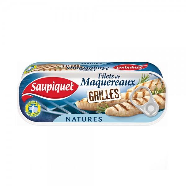 FILET MAQUEREAUX GRILLE NATURE 443202-V001 by SAUPIQUET