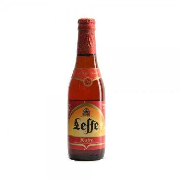 Leffe Ruby Biere Aromatise Bottle 447614-V001 by Leffe