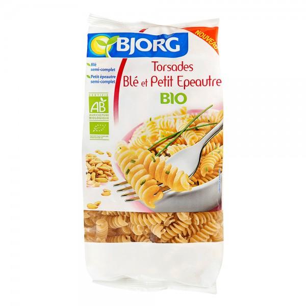 Bjorg Organic Wheat and Spelled Twists 500G 447628-V001 by Bjorg