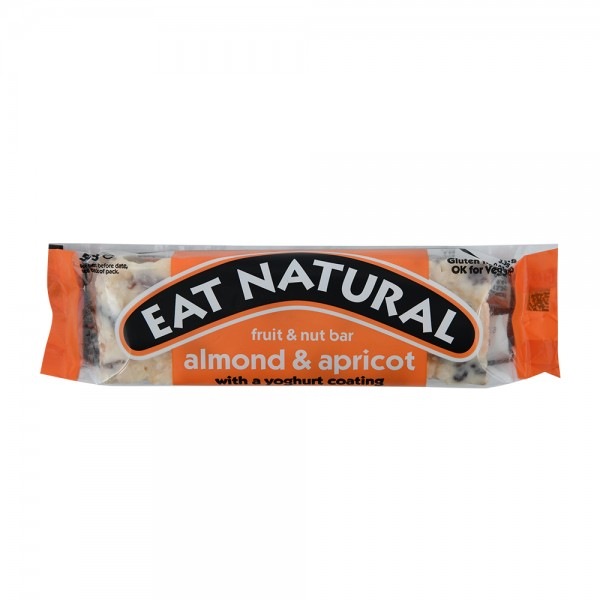 Eat Natural Almond & Apricot With A Yoghurt Coating Fruit & Nut Bar 50G 448170-V001 by Eat Natural