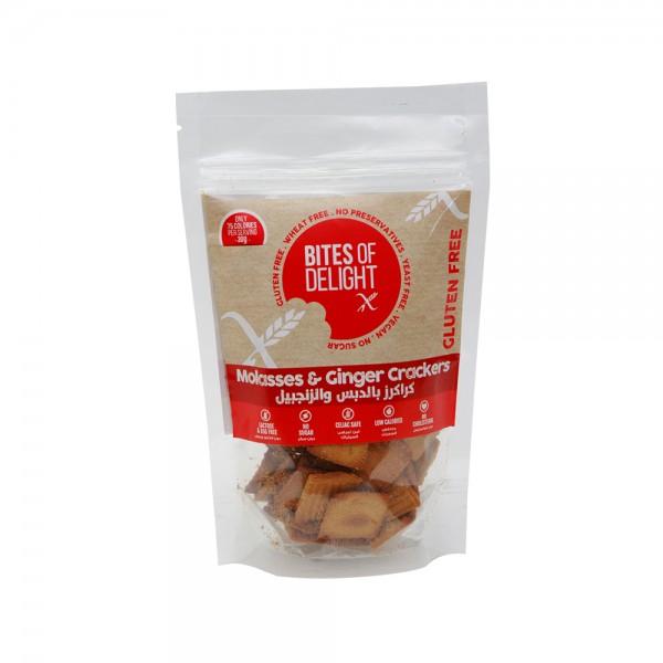 Bites of Delight Molasses + Ginger Crackers 80g 449139-V001 by Bites of Delight