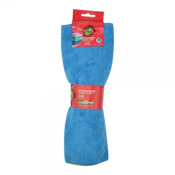 Cleando Microfiber Cloth Colord38X36Cm - 4Pc 449299-V001 by Cleando