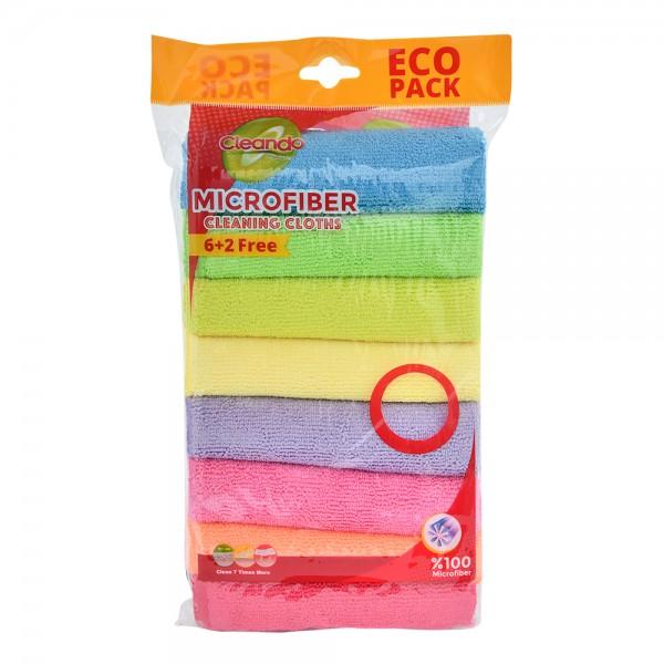 Cleando Microfiber Cloth Colord - 30X30Cm 449300-V001 by Cleando