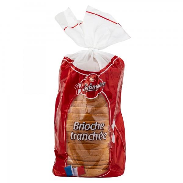 Boulangere Sliced Brioche Loaf 500G 450467-V001 by La Boulangere