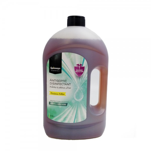 Spinneys Antiseptic Disinfectant 2.5L 450554-V001 by Spinneys Essentials