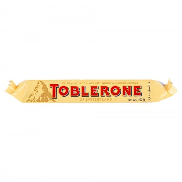 Toblerone Milk Chocolate Bar 50G 451019-V001 by Toblerone