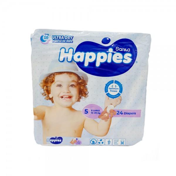 BABY DIAPERS REGULAR X-LARGE 13-25KG SIZE 5 451471-V001 by Sanita