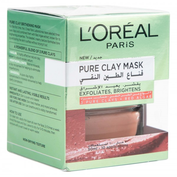 L'Oreal Dermo Expertise clay Red 50ml 451777-V001 by L'oreal