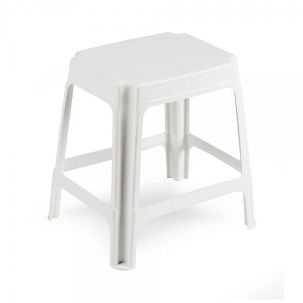 STOOL UNIVER  WHITE 452314-V001 by Pro Garden Collection