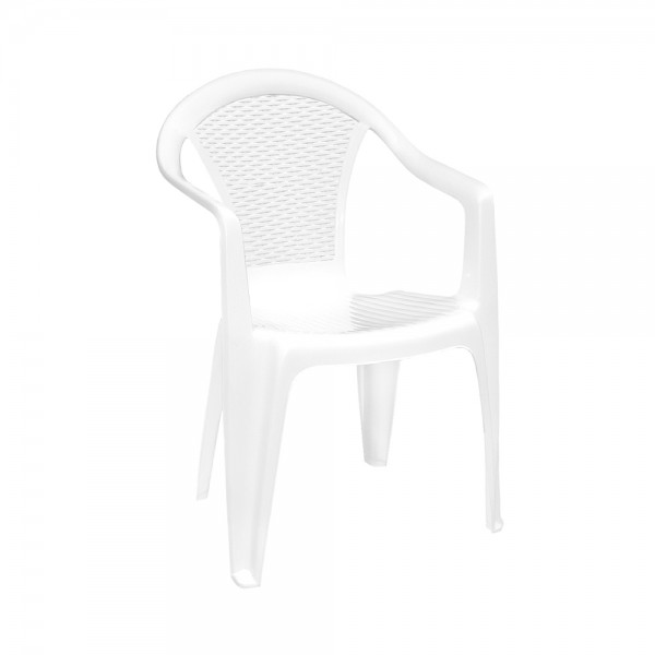 KORA CHAIR WHITE 452316-V001 by Pro Garden Collection