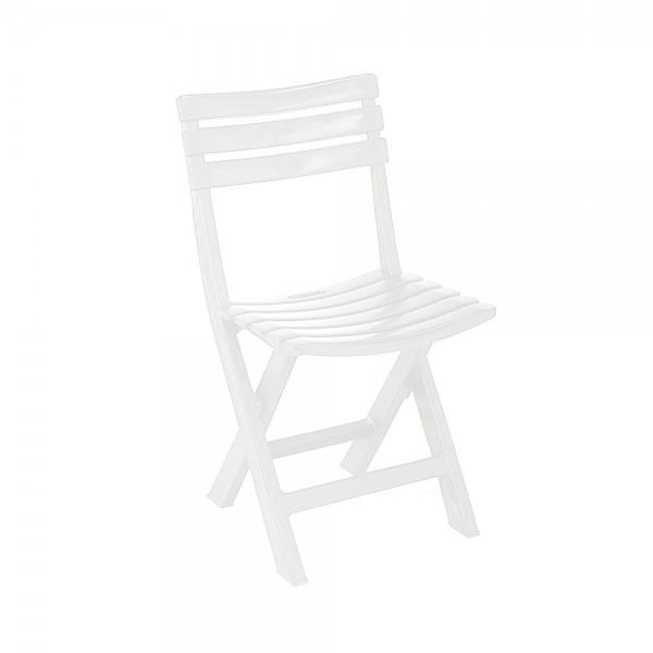 BIRKI FOLDING CHAIR WHITE 452323-V001 by Pro Garden Collection