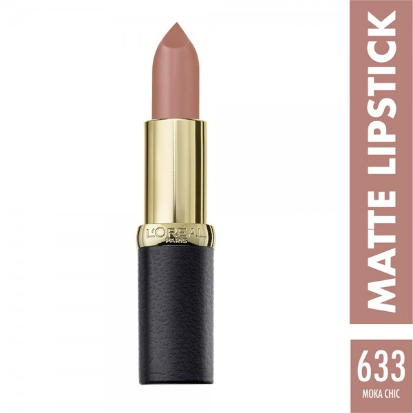 L'Oréal Paris - Color Riche Lipstick Matte 633 Moka Chic 452860-V001 by L'oreal