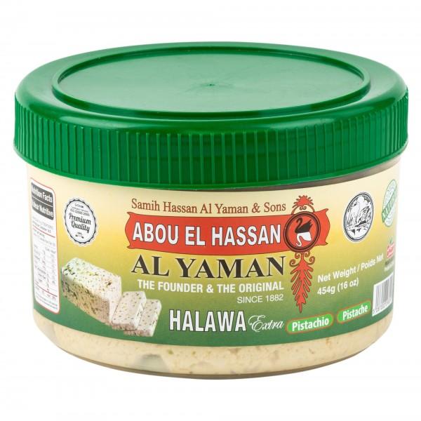 Abou l Hassan Halawa Pistachio 450g 453244-V001 by El Yaman