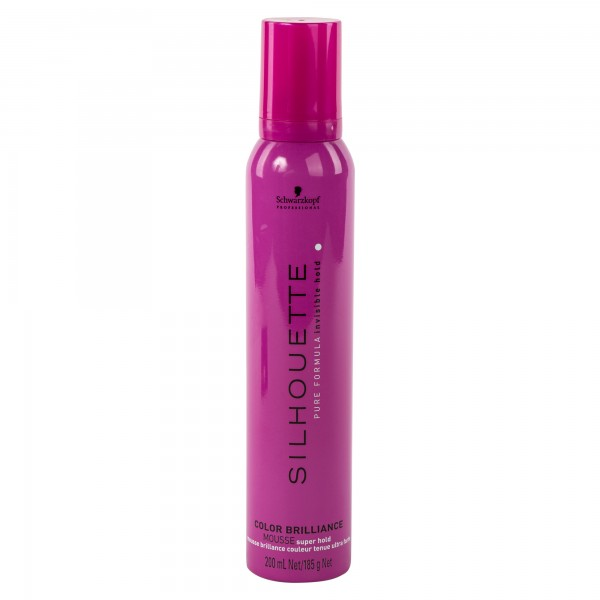 Schwarzkoph Prodessional Silhouette Color Brilliance Mousse 200ml 453367-V001 by Schwarzkopf