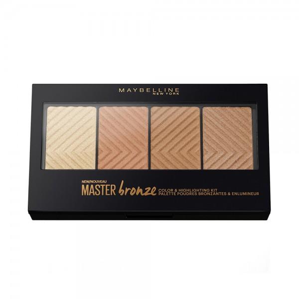 Maybelline Master Bronze Palette 20 453756-V001 by Maybelline