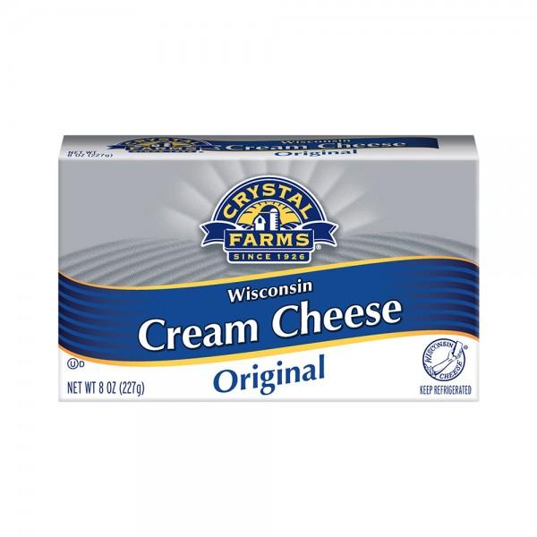 Crys.Farms Regular Box Cream Cheese 454865-V001 by Crystal Farms