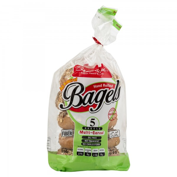 The Bread inc Multicereal Bagel 550G 455639-V001 by Breadinc