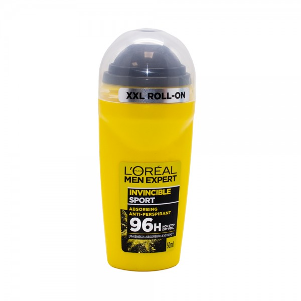 Loreal Men Exp.Deo Roll Invncbl Sport 457119-V001 by L'oreal