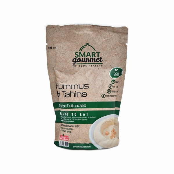 Smart Gourmet Hommos Bi Tahina350G 457150-V001 by Smart Gourmet