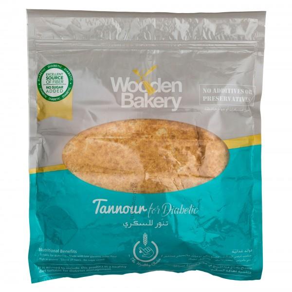 Wooden Bakery Diabetic Tannour 220g 457370-V001 by Wooden Bakery