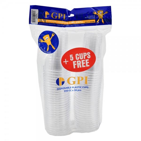 Gpi Crystal Cups 350Cc - 50+5 457479-V001 by Gpi