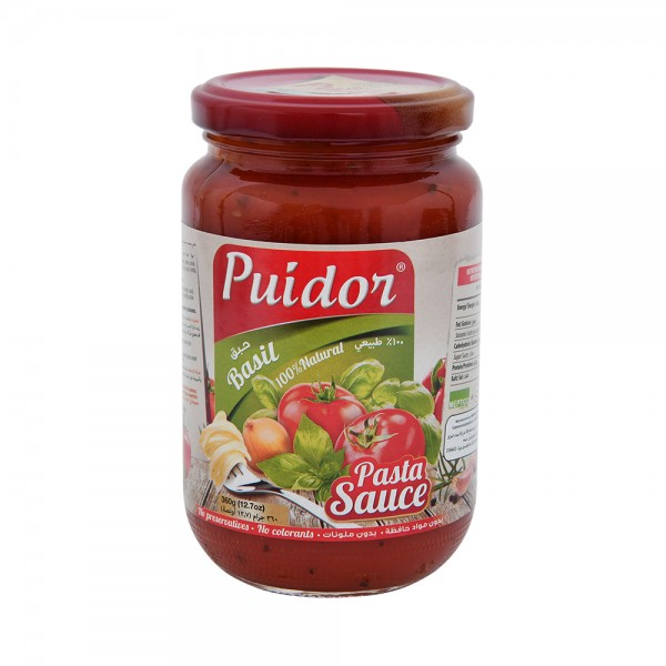 Puidor Basil Pasta Sauce 457709-V001 by Puidor