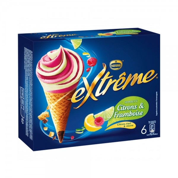 6 EXTREME CONE CITRON FRMBOISE 458277-V001 by Nestle