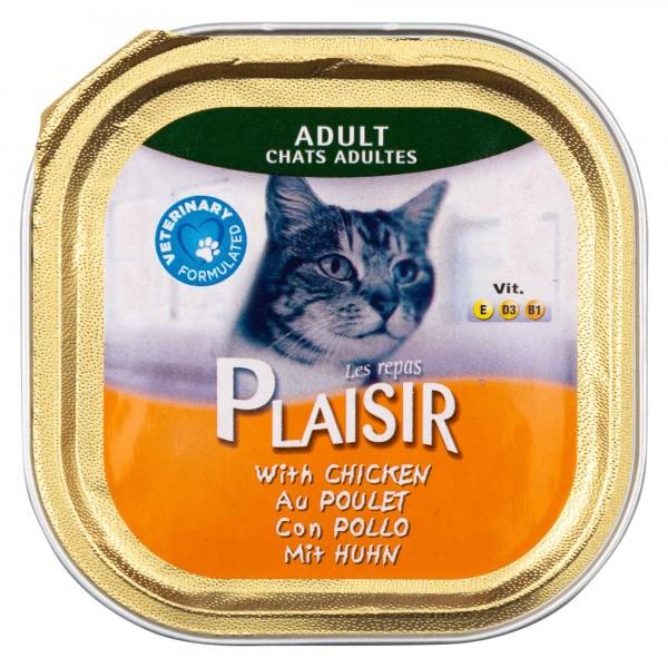 Les Repas Plaisir Adult Cat With Chicken 100G 458712-V001 by Les Repas Plaisir