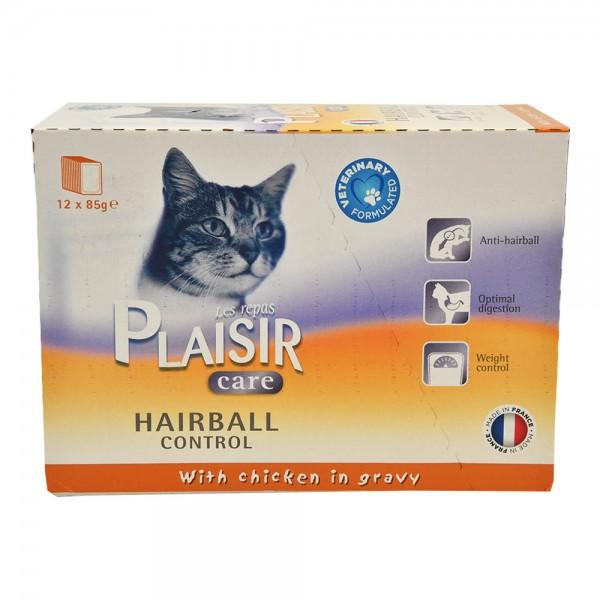 Re.Plaisir Chat Care Hairball - 85G 458731-V001 by Les Repas Plaisir
